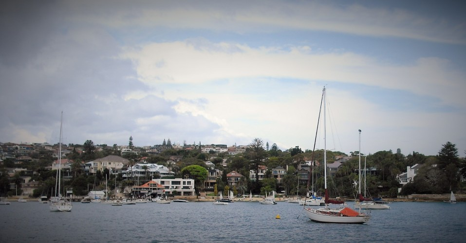 Kutti Beach as seen from the Watsons Bay Ferry.