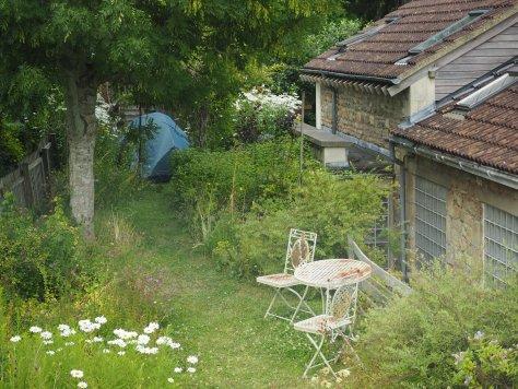 Camping in Amanda's Garden