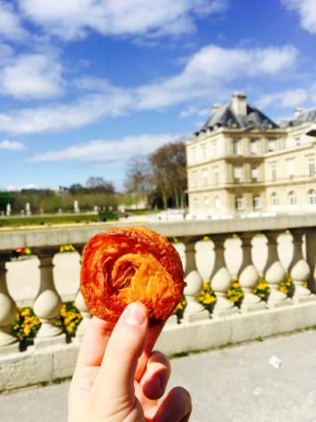 Pastries in Saint Germain des Pres