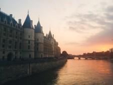 The Conciergerie along the Seine