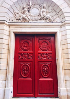 Doorway in Le Marais