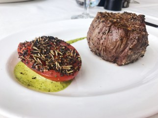Filet Mignon at Hall's Chophouse