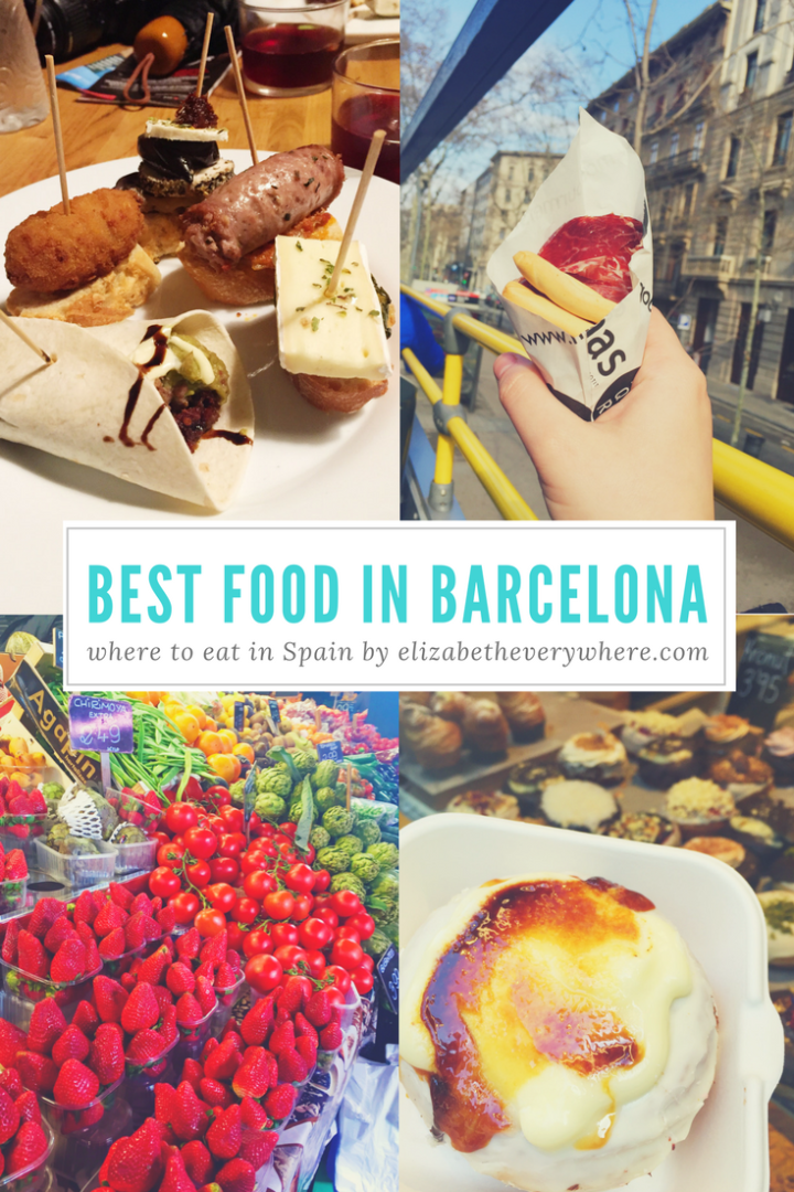 Best Food in Barcelona : Eating Your Way Thru Barcelona