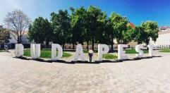 Budapest sign!