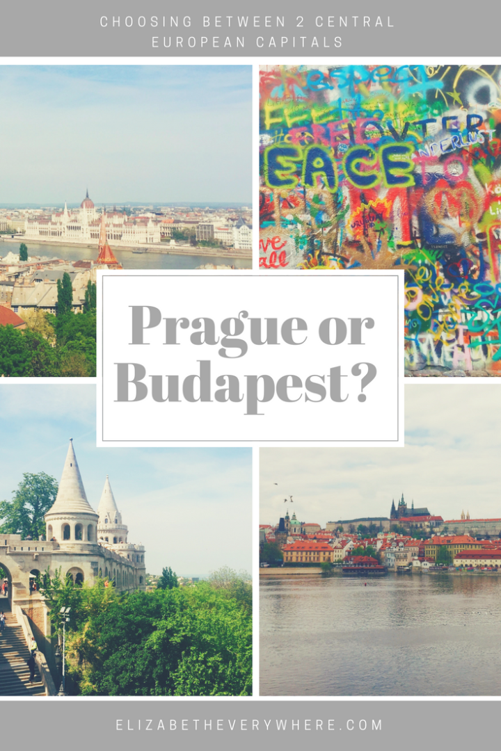 Prague or Budapest? How to Decide