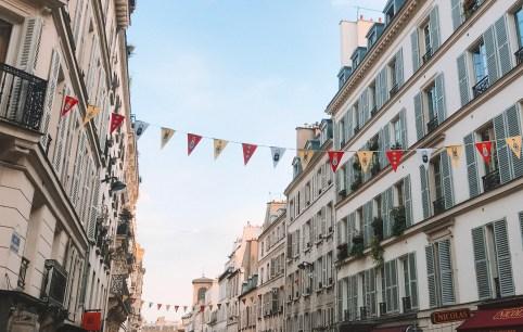 Streets in Montmartre