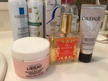 Some French Favorites, including the Nuxe Multipurpose Oil!