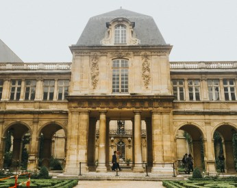 Beautiful Old Mansion is a Museum in the 3rd Arrondissement