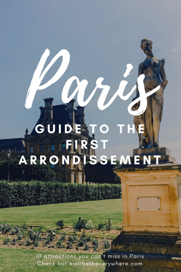 1st Arrondissement of Paris: Travel Guide to Paris, France