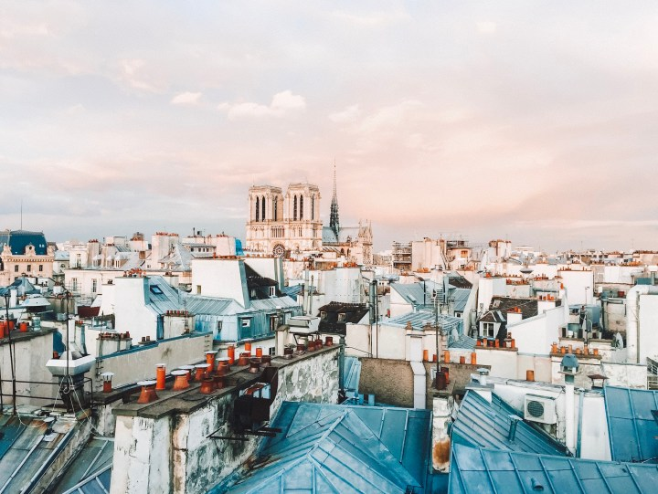 View from the Rooftops in the 5th Arrondissement