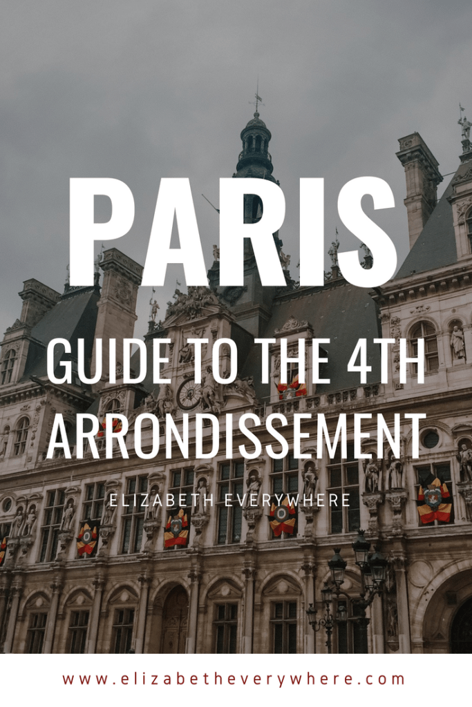 Paris 4th Arrondissement Le Marais Guide