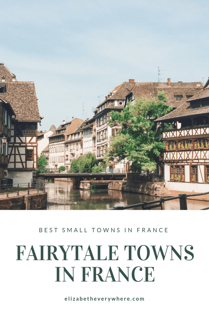 Best Small Towns in France