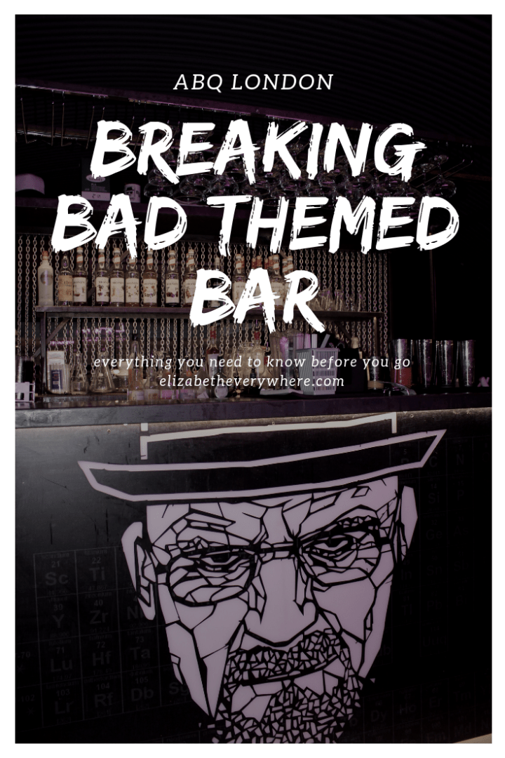 ABQ London – Breaking Bad Bar in the UK Capital