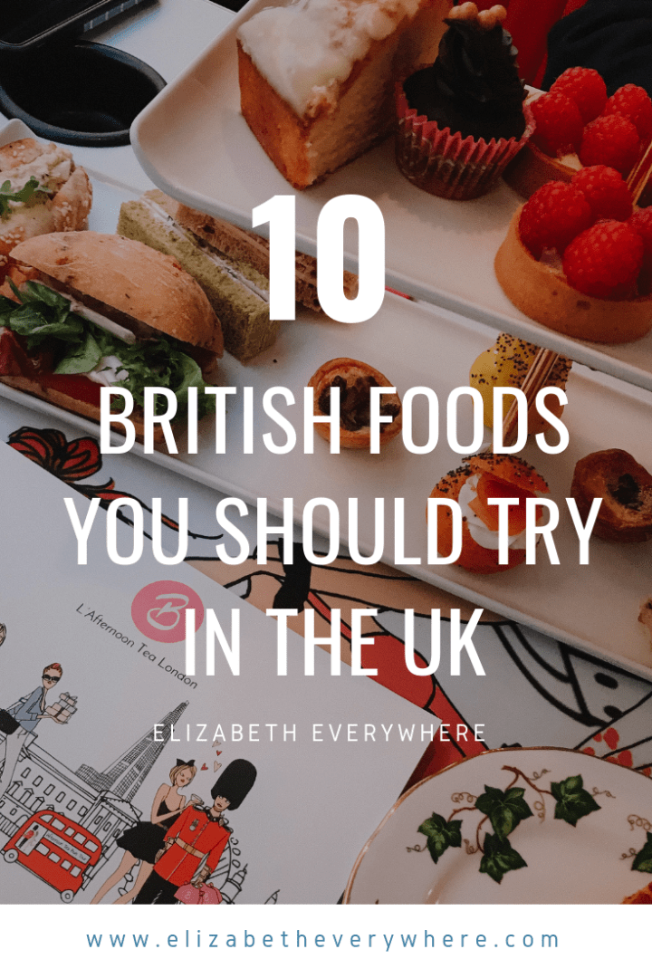 most popular british foods