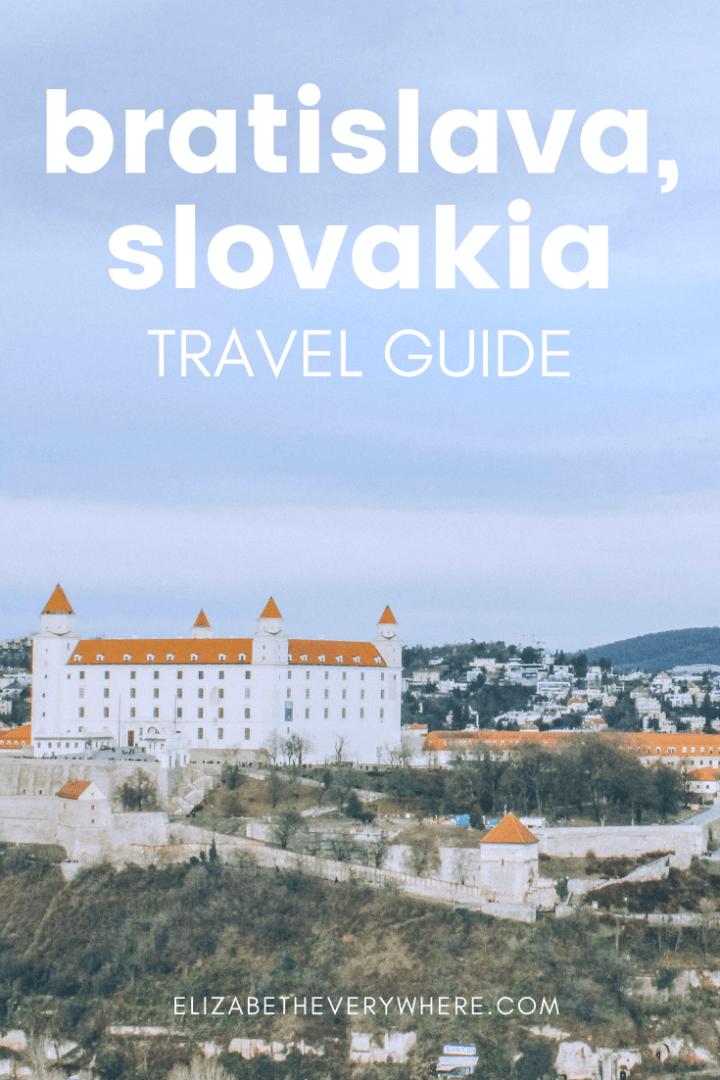 Visiting Bratislava: Bratislava Attractions You Can't Miss + Bratislava Card