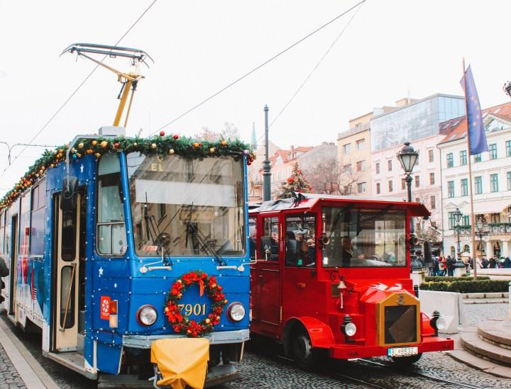 Christmas in Bratislava Christmas Tram