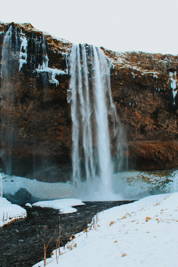 Iceland Packing List waterfall
