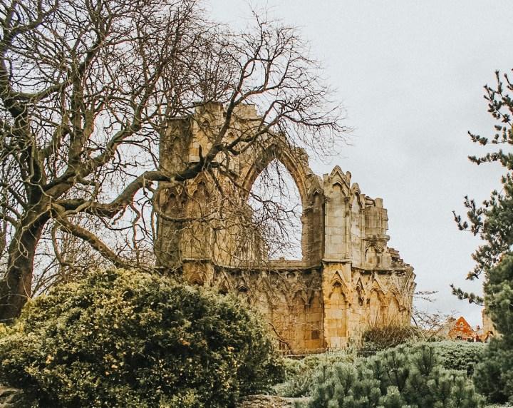 Ruins in Museum Gardens