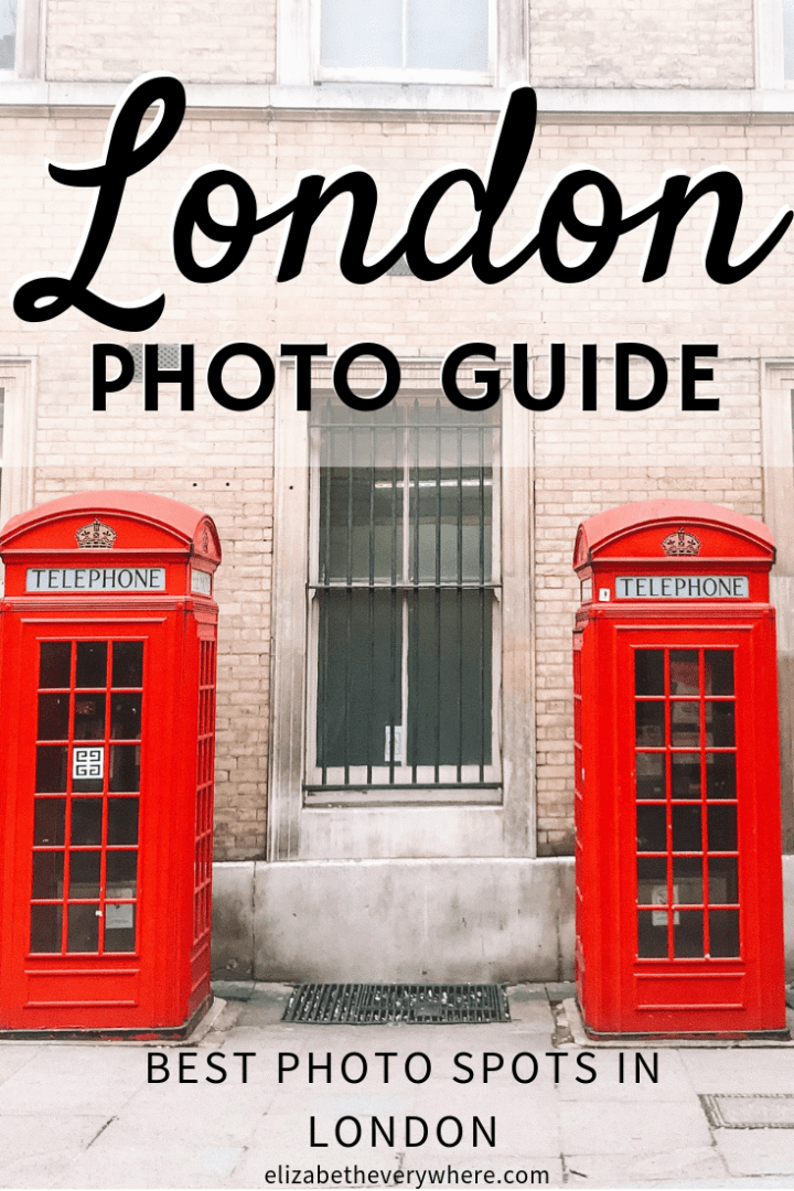 Best Photo Spots in London