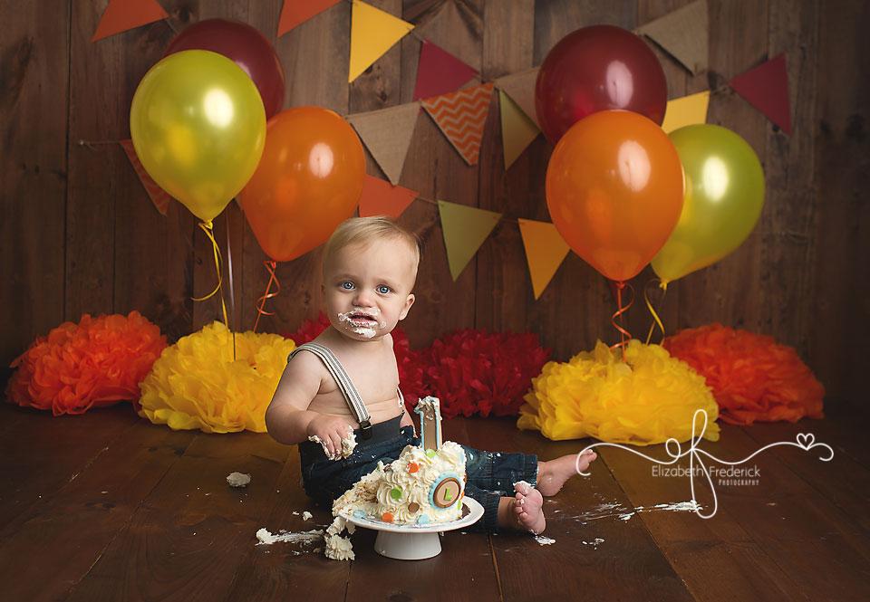 Leo Trumbull Ct Smash Cake Photographer