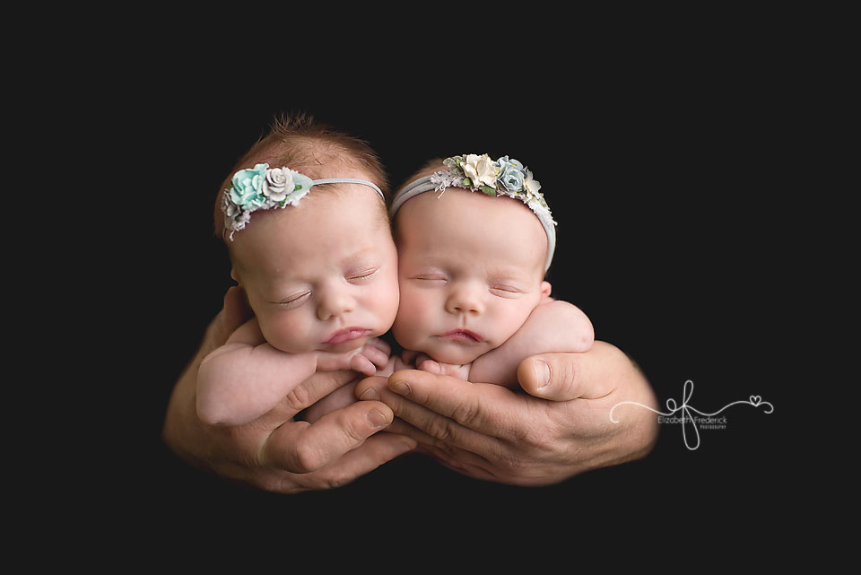 Twin Newborn Photographer CT Newborn Photographer Elizabeth Frederick Photography