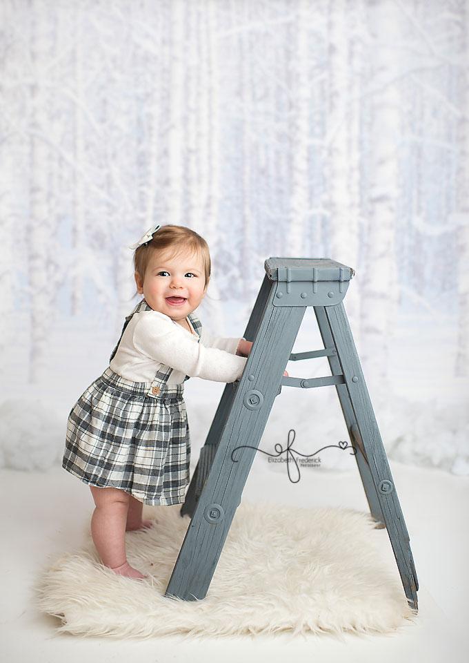 9 Month Mini Milestone session CT baby Photographer Elizabeth Frederick Photography