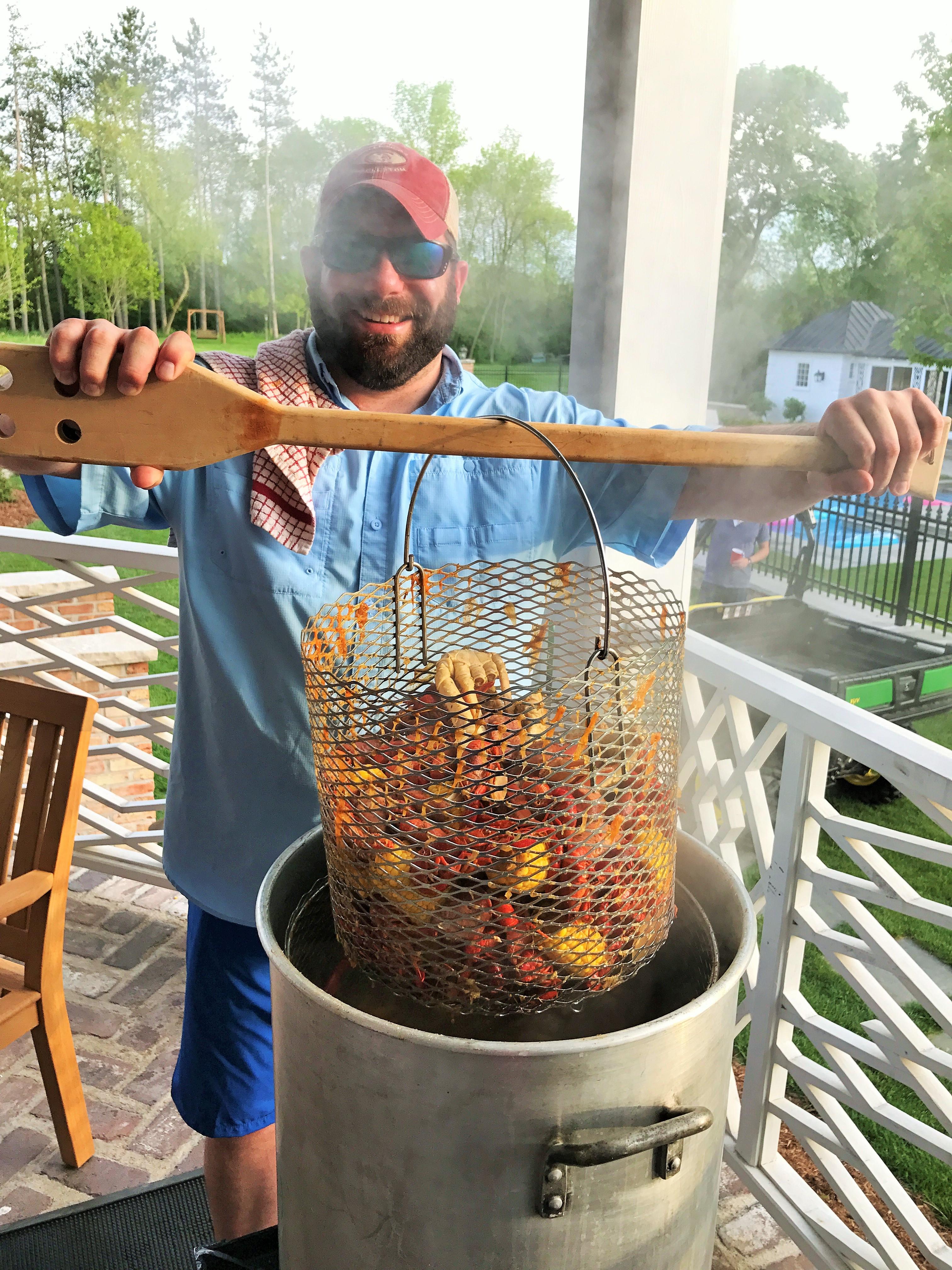 Crawfish Boil Menu with Recipes