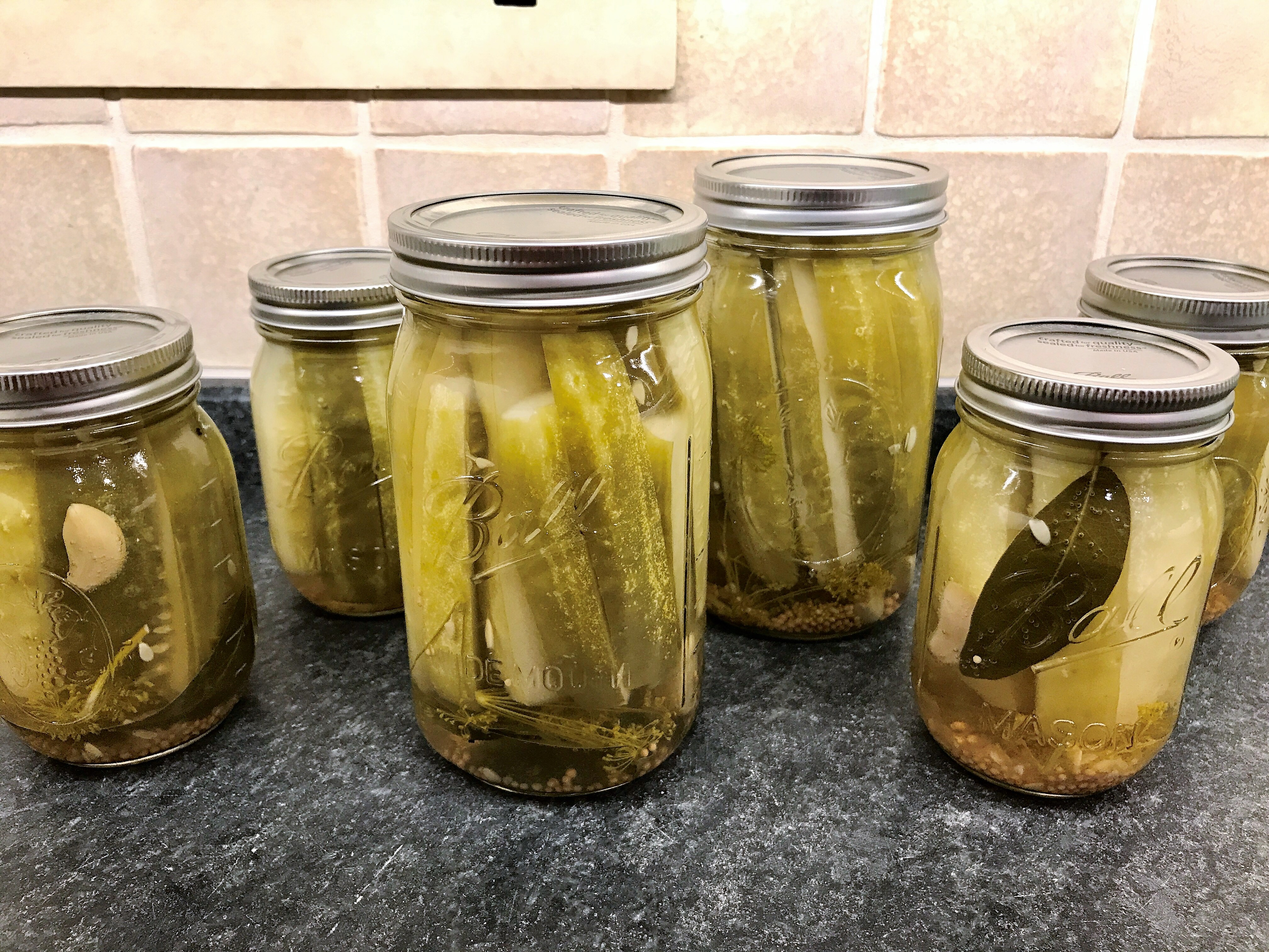 Canning Recipe- Dill Pickles