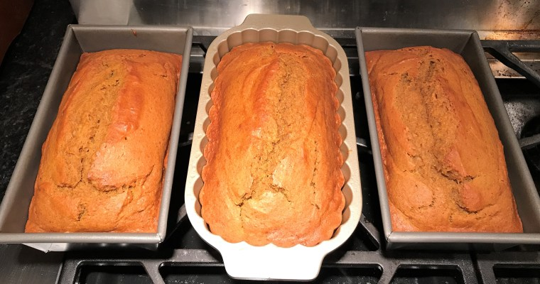 Favorite Pumpkin Bread