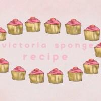 Victoria sponge recipe | EG♡