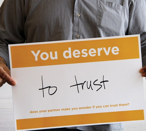 youdeserve poster - yellow