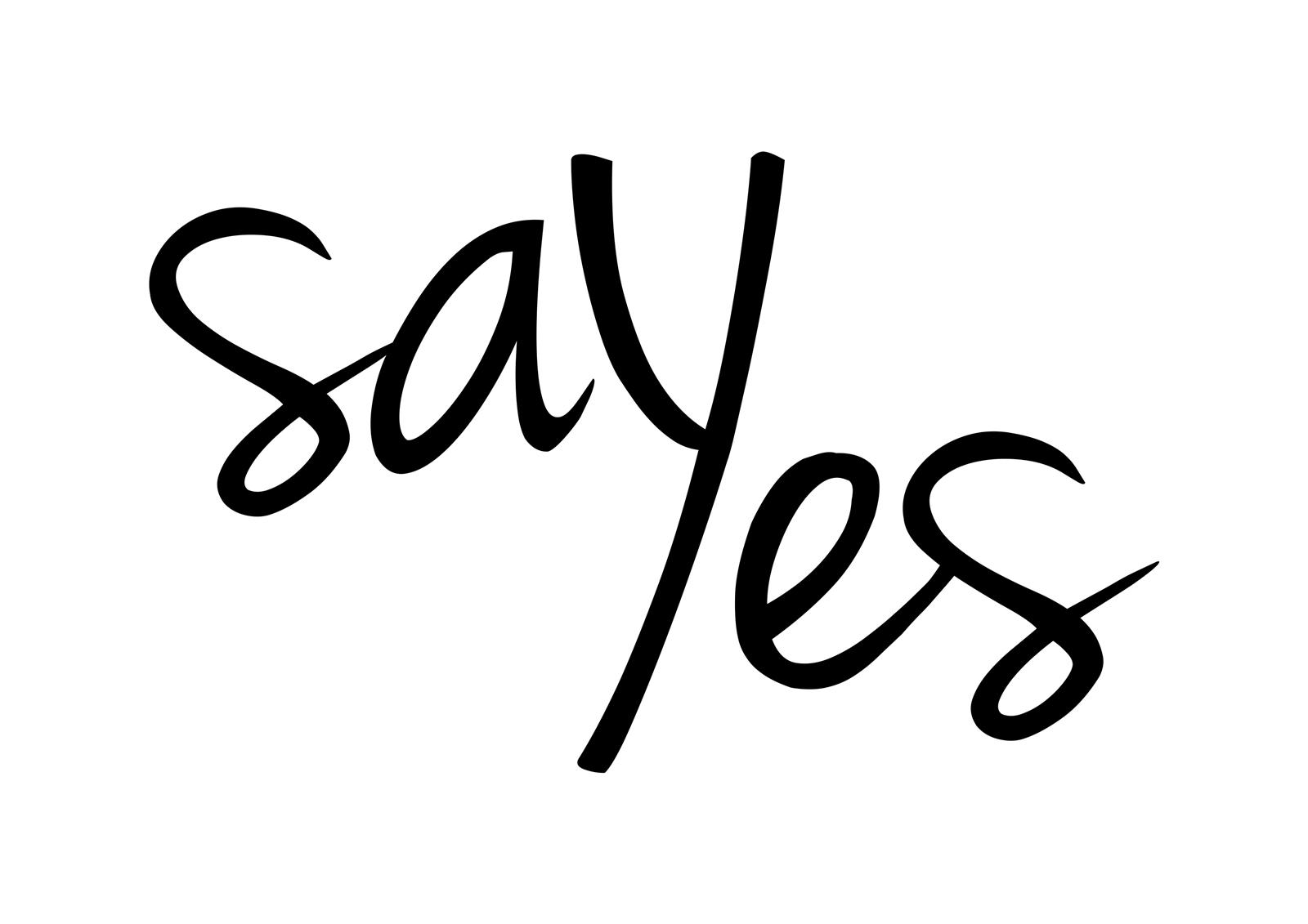 Image result for say yes