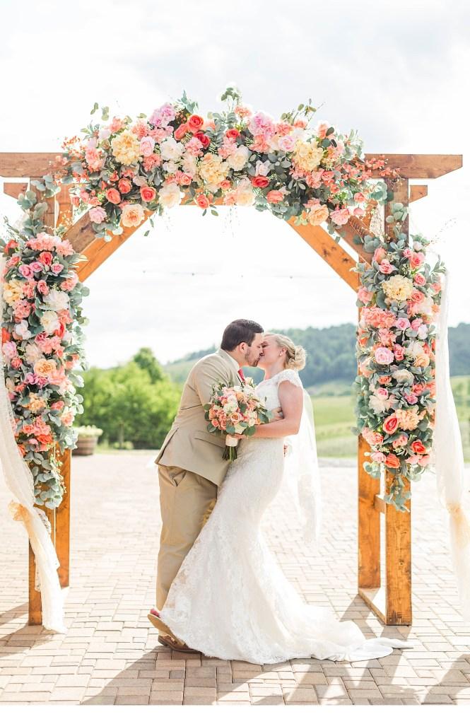 Atlanta Wedding Photographer, Atlanta Weddings, Blush Pink + White Wedding Decor