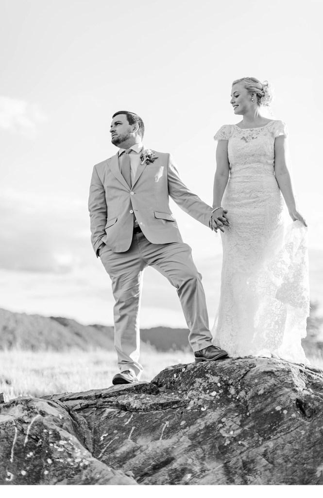 Outdoor North Georgia Wedding Portraits