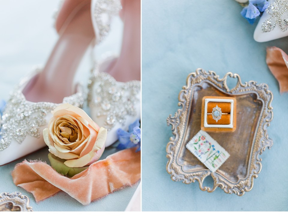 Peach Details for Weddings, Glamour Details