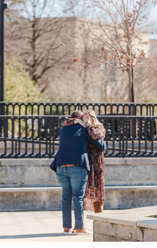 She said yes, Madison GA, Bogart GA
