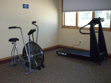 Elizabeth House Exercise and Fitness room.