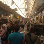 Food market in Jerusalem