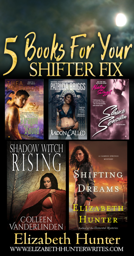 5 books about shape shifters to read