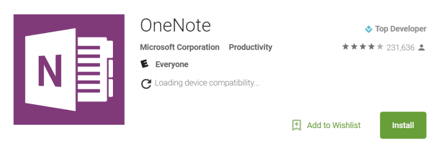 Microsoft One Note