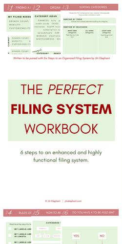 Six Steps to Organized Filing