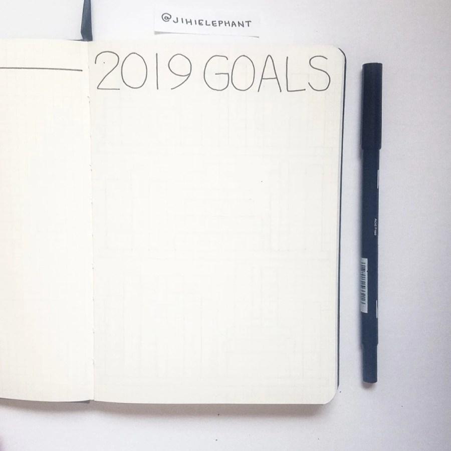 black 2019 goals