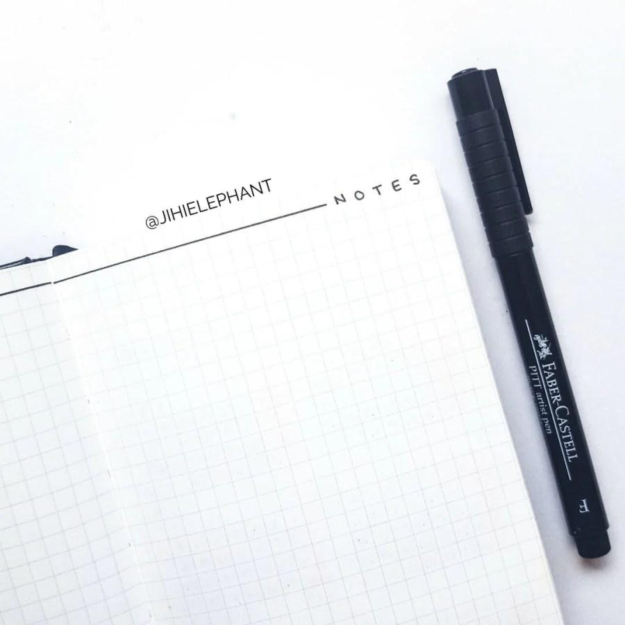 Cheryl's Bullet Journal | Client Gallery