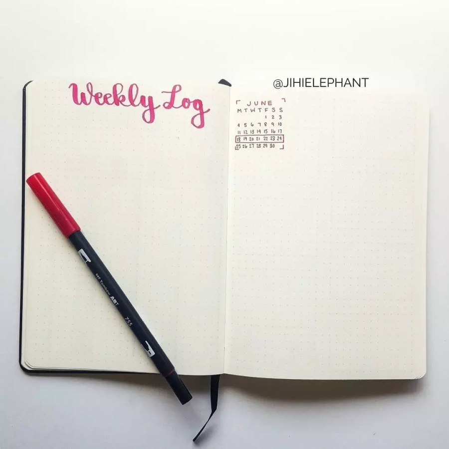 Lacey's Bullet Journal   Client Gallery
