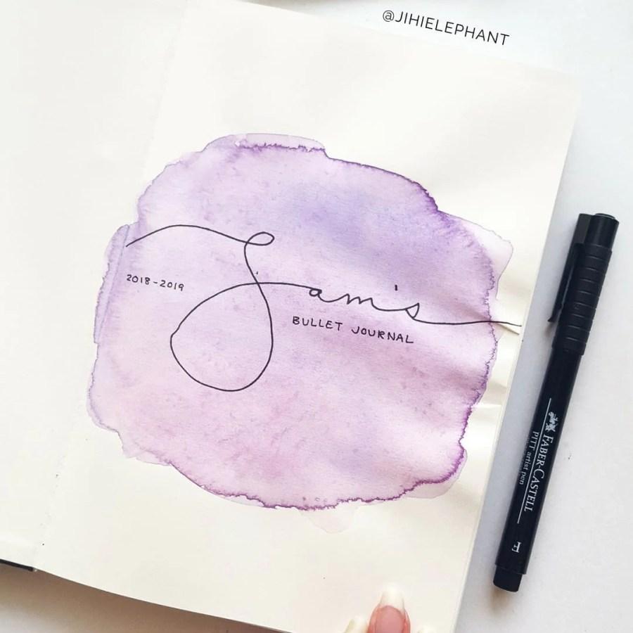 purple title Sam