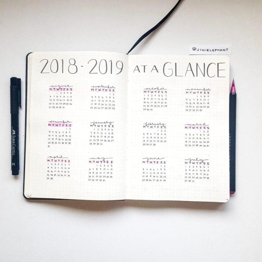 2018 2019 glance Emily