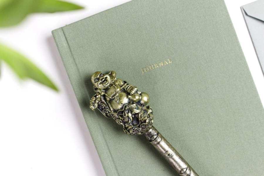 green-notebook-stationery-