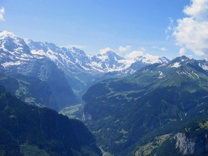 A view from Schynige Platte.