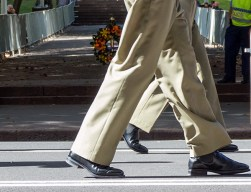 Marching in step (1)