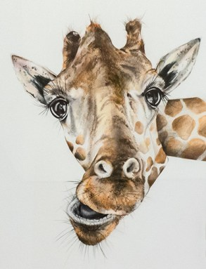 Nicole Hunt - Ready for my Close-up (detail) - $930